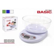 Svarstyklės virtuvinės elektron. 5kg BASIC