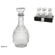 Grafinas stikl. 1.0L 12*12*27cm ARABIA
