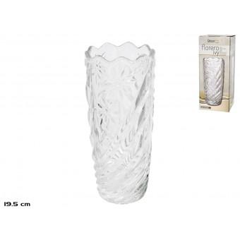 Vaza stikl. 8*19cm IVY