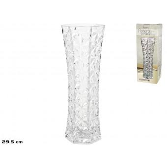 Vaza stikl. 9.5*10.5*29cm SAHARA