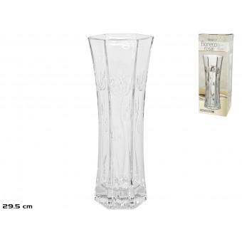 Vaza stikl. 9.5*10.5*29cm ROSAL