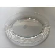 Lėkštė stikl. 35*26cm ovali