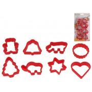 Formelės sausainiams pp 8 vnt RED