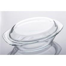 Indas kepimui stikl. s/d 1.5L+0.8L ovalus Marinex