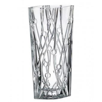 Vaza krištolinė 35.5*20*10cm LABYRINTH