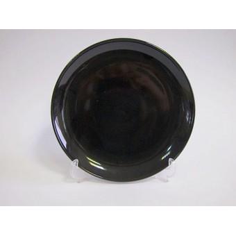 Lėkštė keramik. 18cm juoda 2226