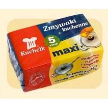 Virtuvinės kempinėlės MAXI 5vnt. 3011