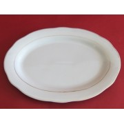 Lėkštė 35cm ovali balta
