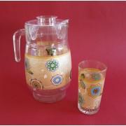 Ąsotis su 6 stiklinėmis 109-7B