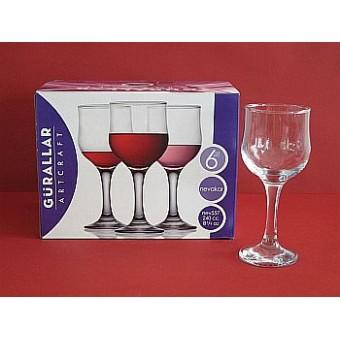 Taurės vynui 200ml NEVAKAR 6vnt. 533