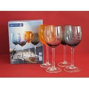 Taurės vynui 4vnt. 23991 UPTOWN 250ml