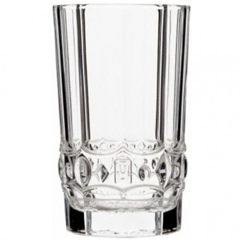 Stiklinės krišt. 280ml 6vnt ALLURE 28861