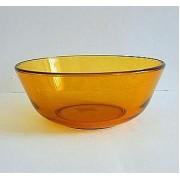 Salotinė stikl. 17cm ruda B721A