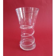 Vaza stikl. 20cm 8220