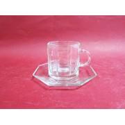 Puodukų 200ml s/l stikl.6vnt. rink. Z8607