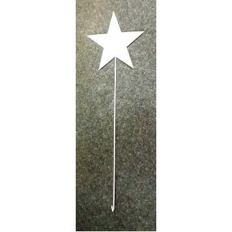 Dekoracija met. pakabinama 80cm Žvaigždė