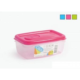 Dėžutė maistui hermetinė 0.5L C754H01