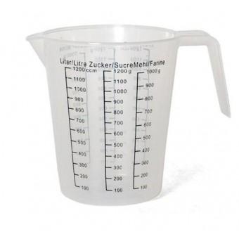 Indas matavimui 1.2L plast. 14012