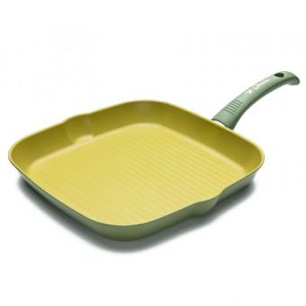 Keptuvė grill  28*28cm OLIVILLA 4.5mm OL8328N