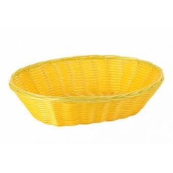 Krepšelis pintas geltonas 28*20*7cm B922053