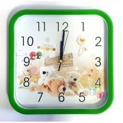 Laikrodis sieninis 28*28cm plast. vaikišk NGV0511