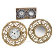 Laikrodis + veidrodis sieninis 30.5cm ODD