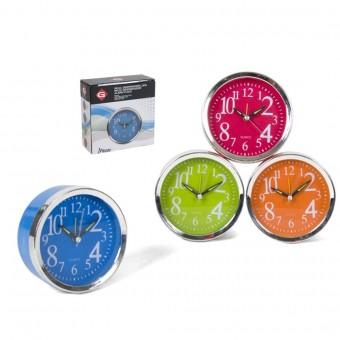 Laikrodis stalinis-žadintuvas 10cm LUKA