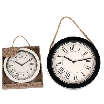 Laikrodis plast. sieninis 25cm ROMAN