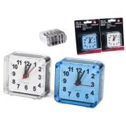 Laikrodis stalinis-žadintuvas 6*3*6cm MINI