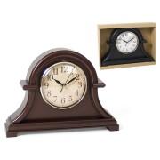Laikrodis plast. stalinis 32cm MANTO