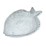 Lėkštė stikl. 'Žuvis' 36*26cm