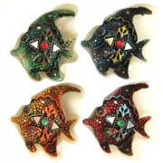 Magnetukai - žuvys dekor. 2404