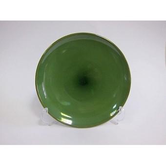 Lėkštė keramik. 29cm  žalia  2228