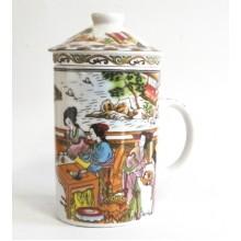 Puodukas su sieteliu 300ml NGP0503 keramik.