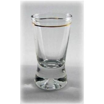 Stikliukai 6vnt. X Orka su auksin. krašt. 25ml
