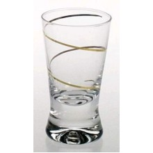 Stikliukai 6vnt. X Orka su auksine spirale 25ml