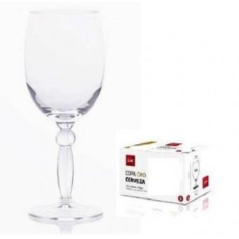 Taurės vynui/vandeniui 300ml STYLE 6vnt. 44664