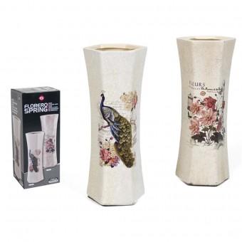 Vaza keramikinė 24.5cm dekor. SPRING