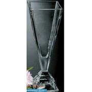 Vaza krištolinė PYRAMIDE 32 cm 19829
