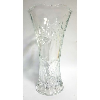 Vaza stikl. 23cm 21049