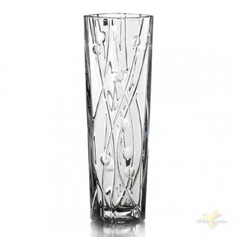 Vaza krištolinė 25cm  LABYRINTH
