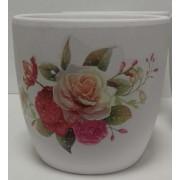 Vazonas keramik. 13x10x13cm 20187