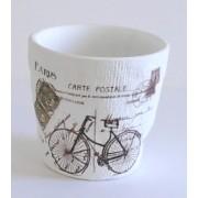 Vazonas keramik. 14x10x13cm NG8124B-3046