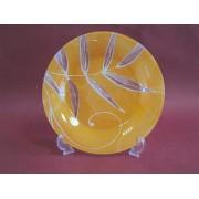 Lėkštė stikl. 27cm TOTEM 111 (oranžinė) 1vnt.