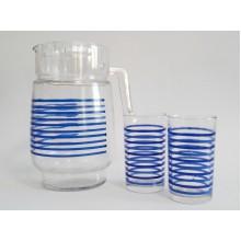 Ąsotis su 6 stiklinėmis SH8/7M