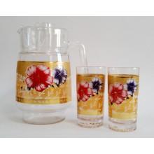 Ąsotis su 6 stiklinėmis 109-7H