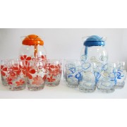 Ąsotis su 6 stiklinėmis  121155