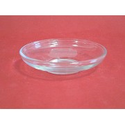 Lėkštutė 10cm stikl.po puodeliu 2103