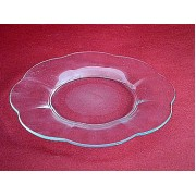 Lėkštė stikl. 23086 20.5cm 'Gėlė'