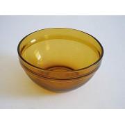 Salotinė stiklinė 12cm 0588 AM rudos spalvos